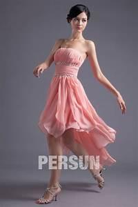 Robe Pour Temoin De Mariage : robe rose courte devant longue derri re pour t moin de ~ Melissatoandfro.com Idées de Décoration