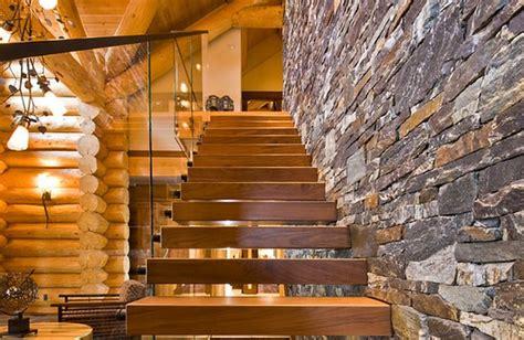 aménagement cuisine d été escalier maison bois moderne deco maison moderne