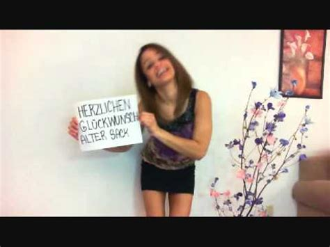 herzlichen glueckwunsch zum geburtstag alter sack youtube