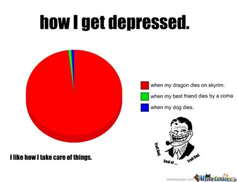 Meme Depression - how i get depressed by narutosage16 meme center