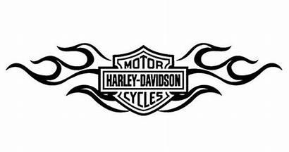 Harley Davidson Decals Cut Stickers Vinyl Window