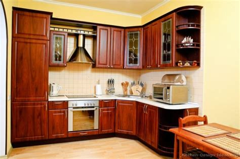 functional small wooden kitchen design ideas