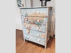 A Decoupage Guide Upcycling Your Bedroom Furniture Oak