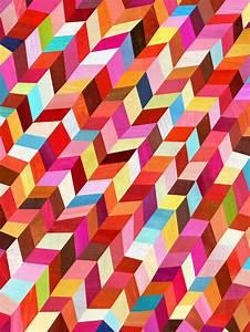 Colorful Geometric Decor & Art | Vivid Interior Design ...