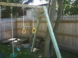 Pdf diy how to build wood swing set download wood making for Building plans for a frame swing set