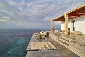 Villa, De, Vacances, En, Gr, U00e8ce, Au, Design, Int, U00e9rieur, Minimaliste, Rustique, Et, U00e9l, U00e9gant, U00e0, La, Fois