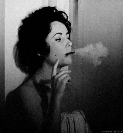 Smoking Lauren Bacall Taylor Elizabeth Cigarette Smoke