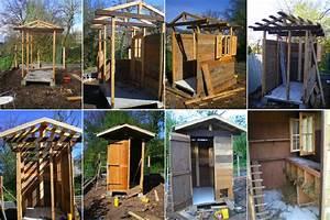 Construire Cabane De Jardin : jardins bio de villard noir construire un abri de jardin ~ Zukunftsfamilie.com Idées de Décoration