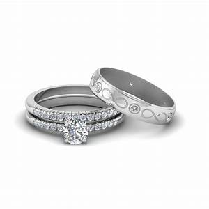 15 best of wedding rings for bride and groom sets With set of wedding ring for groom and bride