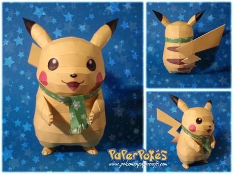 pokemon papercraft making paperpoke pals