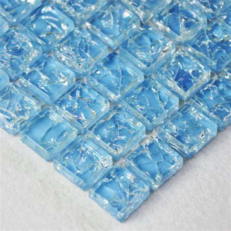 crackled glass tile crackle glass mosaic tiles ckmt014 modern mosaic tile other metro by my building shop