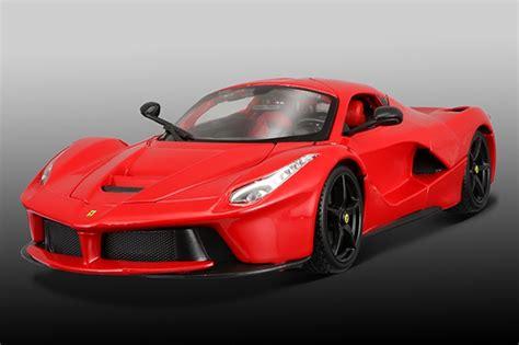 Bburago Race & Play Ferrari Laferrari Red W/ Black Wheels