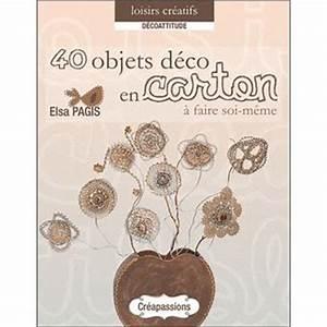 Objet Bambou Faire Soi Meme : objets d co en carton faire soi m me broch elsa pagis achat livre fnac ~ Melissatoandfro.com Idées de Décoration