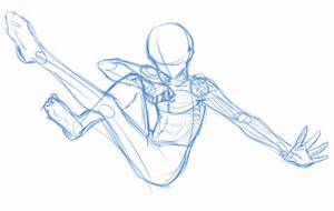 Base -Male dynamic pose by hermengarde on DeviantArt