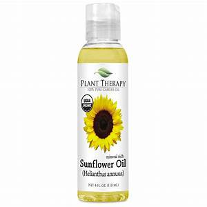 Sunflower Carrier Oil- ORGANIC: Essential Oils   Plant Therapy