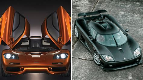 The 10 Fastest Production Cars In The World Right Now