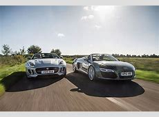 Icon Buyer new Jaguar Ftype V6 vs used Audi R8, CAR+