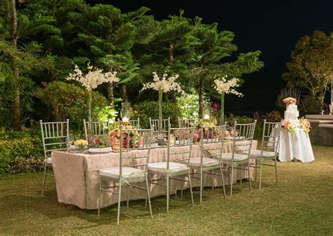 tagaytay wedding reception package garden weddings in