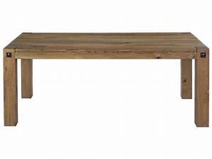 Table De Cuisine Rectangulaire : table rectangulaire 200 cm louis coloris ch ne antique ~ Teatrodelosmanantiales.com Idées de Décoration