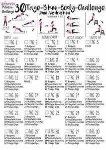 30 Tage Fitness : die 30 tage bikini body challenge mach dich straff ~ Frokenaadalensverden.com Haus und Dekorationen
