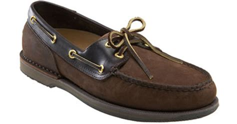 rockport boat shoes perth rockport perth boat shoe in brown for chocolate