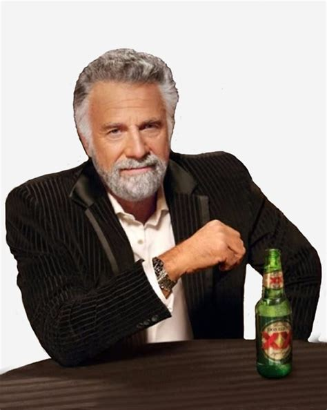 Dos Equis Man Meme - quot dos equis man the most interesting man in the world meme quot canvas prints by tomohawk64 redbubble
