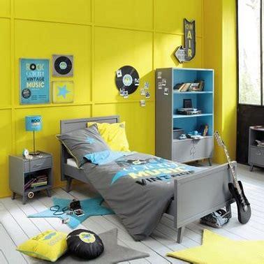 deco chambre jaune et gris deco chambre ado gris et jaune visuel 7