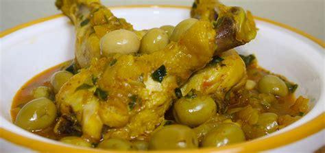 recette de cuisine tunisienne pour le ramadan recette tajine de poulet aux olives recette marocaine