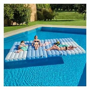 Jeux Gonflable Pour Piscine : matelas gonflable pour piscine pigro felice zendart design ~ Dailycaller-alerts.com Idées de Décoration