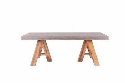 Concrete Coffee Acacia Legs Living Wood Furniture