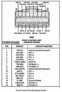 2001 Ford Escape Radio Wiring Diagram