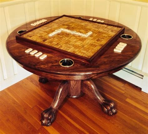 101 Best Images About Domino Table Ideas & Construction On