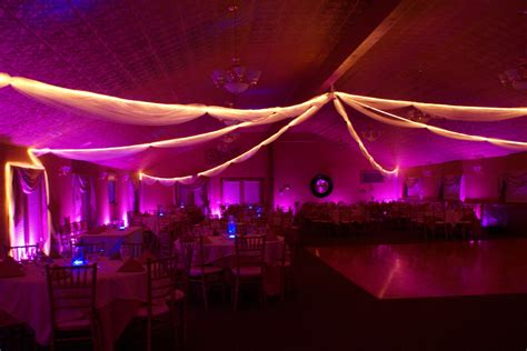 color wash uplighting portland wedding lights