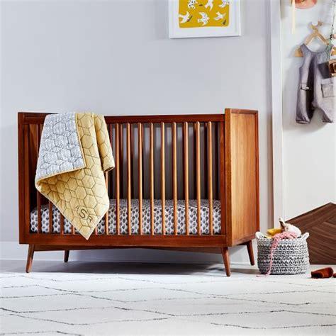 west elm crib mid century convertible crib acorn west elm