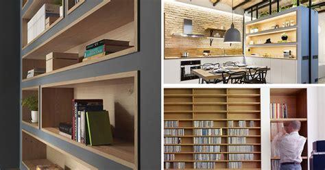 inspirational examples  built  shelves lined