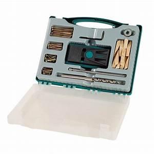 Outil Pour Fendre Le Bois : wolfcraft 4642000 kit outils coffret outillage ~ Dailycaller-alerts.com Idées de Décoration