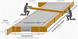 Fundamente Berechnen : garagen fundamente beratung angebote k uferportal ~ Themetempest.com Abrechnung