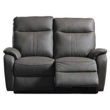 canapé cuir 2 places conforama canapé de relaxation électrique 2 places nlk coloris gris
