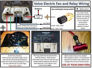 Volvo 850 Cooling Fan Relay Wiring