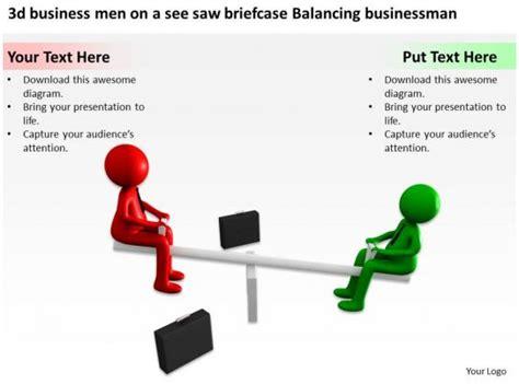 business men     briefcase balancing