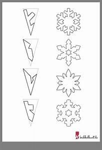Weihnachtsbasteln Mit Kindern Vorlagen : schneeflocken basteln schneeflocken basteln basteln ~ Watch28wear.com Haus und Dekorationen