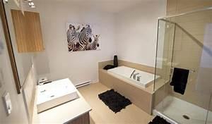 Salle De Bain Douche Baignoire : condos urbains au coeur de laval danielle bonneau maisons ~ Melissatoandfro.com Idées de Décoration