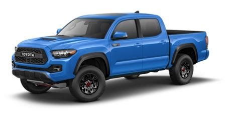 toyota tacoma exterior color options