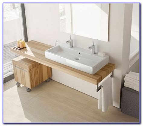 trough bathroom sink with two faucets canada bathroom