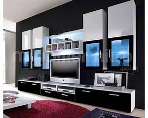 Meuble Moderne Salon : meuble tele moderne salon id es de d coration int rieure french decor ~ Teatrodelosmanantiales.com Idées de Décoration