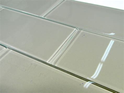 pebble glass  subway tile glass tile home