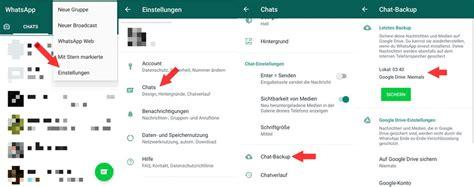 whatsapp nachrichten wiederherstellen geloeschter chat