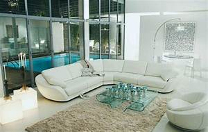 le salon roche bobois un conte de fee moderne archzinefr With tapis de course pas cher avec canapé d angle roche et bobois