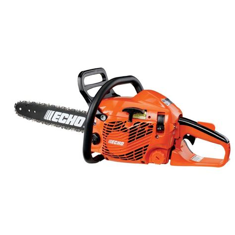 home depot cs echo refurbished 16 in 34cc gas chainsaw cs 352 16aa the home depot