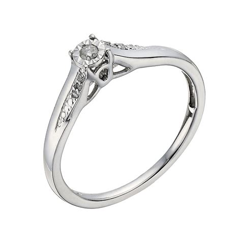 9ct White Gold Diamond Illusion Solitaire Ring  Hsamuel. Northern Rings. Claw Rings. Synchronizer Rings. Jenny Mccarthy's Engagement Rings. Soft Pink Wedding Rings. Small Rings. Wedding Tacori Wedding Rings. Design Engagement Rings
